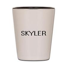 Skyler Digital Name Shot Glass