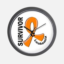 Leukemia Survivor 12 Wall Clock