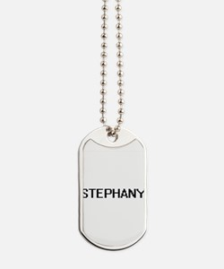 Stephany Digital Name Dog Tags