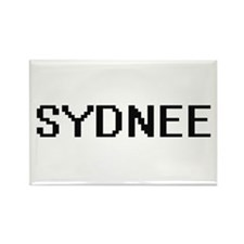 Sydnee Digital Name Magnets