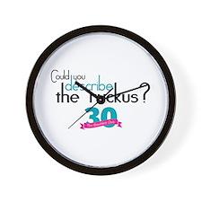 Breakfast Club Ruckus Wall Clock