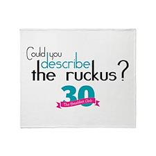 Breakfast Club Ruckus Throw Blanket