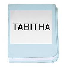 Tabitha Digital Name baby blanket