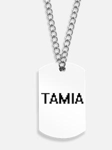 Tamia Digital Name Dog Tags