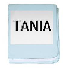 Tania Digital Name baby blanket