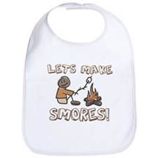Lets Make SMORES! Bib