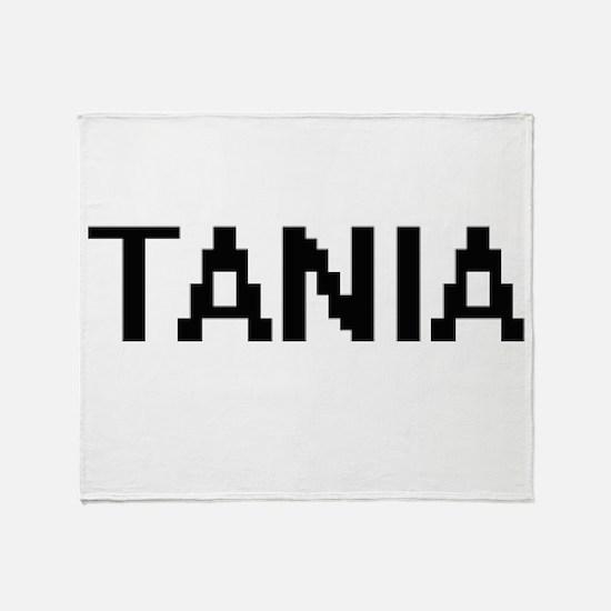 Tania Digital Name Throw Blanket