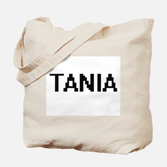 Tania Digital Name Tote Bag