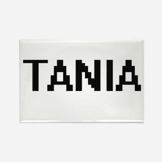 Tania Digital Name Magnets