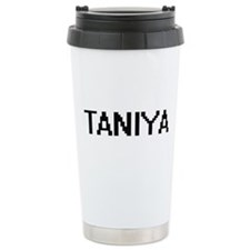 Taniya Digital Name Travel Mug