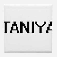 Taniya Digital Name Tile Coaster