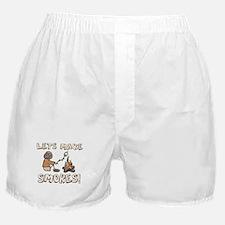 Lets Make SMORES! Boxer Shorts