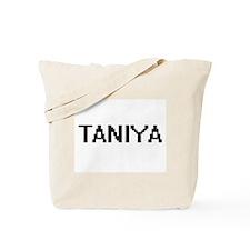 Taniya Digital Name Tote Bag