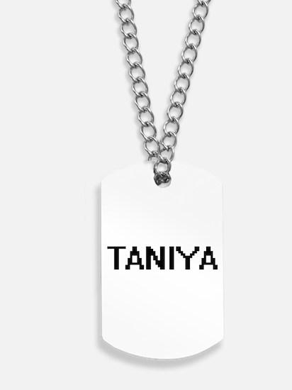 Taniya Digital Name Dog Tags