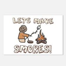 Lets Make SMORES! Postcards (Package of 8)