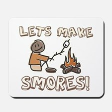 Lets Make SMORES! Mousepad