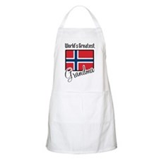 World's Greatest Norwegian Grandma BBQ Apron