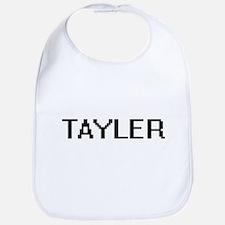 Tayler Digital Name Bib