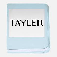 Tayler Digital Name baby blanket