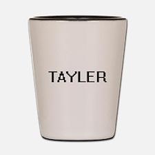 Tayler Digital Name Shot Glass