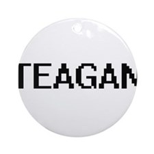 Teagan Digital Name Ornament (Round)