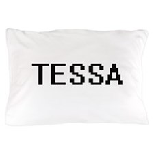 Tessa Digital Name Pillow Case