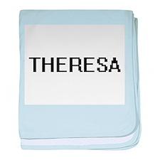Theresa Digital Name baby blanket