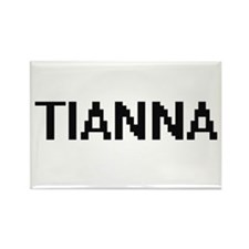 Tianna Digital Name Magnets