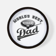 Best Husband/Dad Wall Clock