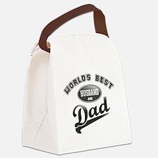 Best Husband/Dad Canvas Lunch Bag