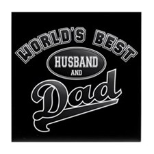 Best Husband/Dad Tile Coaster