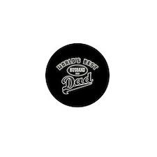 Best Husband/Dad Mini Button (10 pack)