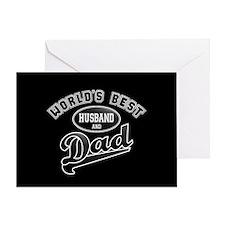 Best Husband/Dad Greeting Card