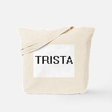 Trista Digital Name Tote Bag