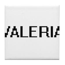 Valeria Digital Name Tile Coaster