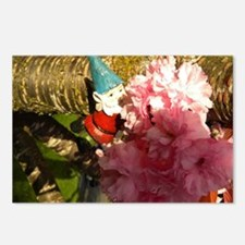 Pink Bunches Gnome Postcards (Package of 8)