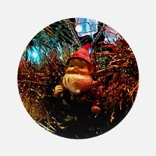 Christmas Tree Hector Round Ornament
