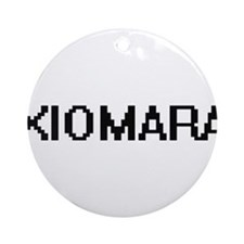 Xiomara Digital Name Ornament (Round)