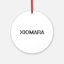 Xiomara Digital Name Ornament (Round)