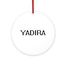 Yadira Digital Name Ornament (Round)