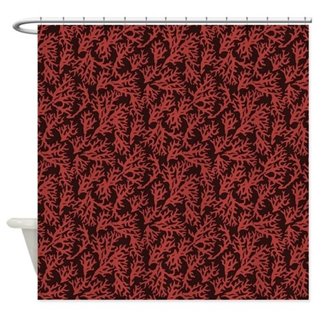 Coral Shower Curtain By Takeachildfishing