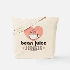 Bean Juice Java Junkie Coffee Lovers Tote Bag