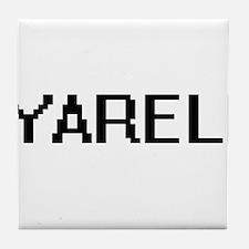 Yareli Digital Name Tile Coaster