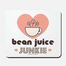 Bean Juice Java Junkie Coffee Lover Mousepad