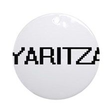Yaritza Digital Name Ornament (Round)