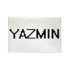 Yazmin Digital Name Magnets