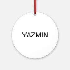 Yazmin Digital Name Ornament (Round)