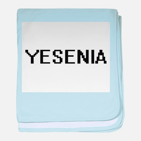 Yesenia Digital Name baby blanket