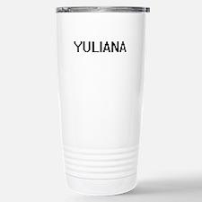 Yuliana Digital Name Travel Mug