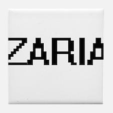 Zaria Digital Name Tile Coaster
